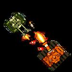 Rust tank 2D Symbol