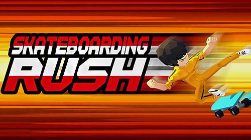 Skateboarding rush Symbol