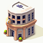 Idle island: City building tycoon Symbol