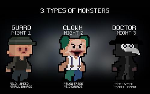 Hide and rob: Pixel horror скриншот 4