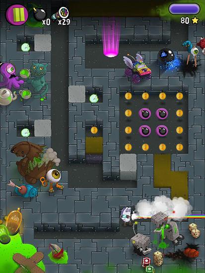 Arcade-Spiele Phil the pill für das Smartphone
