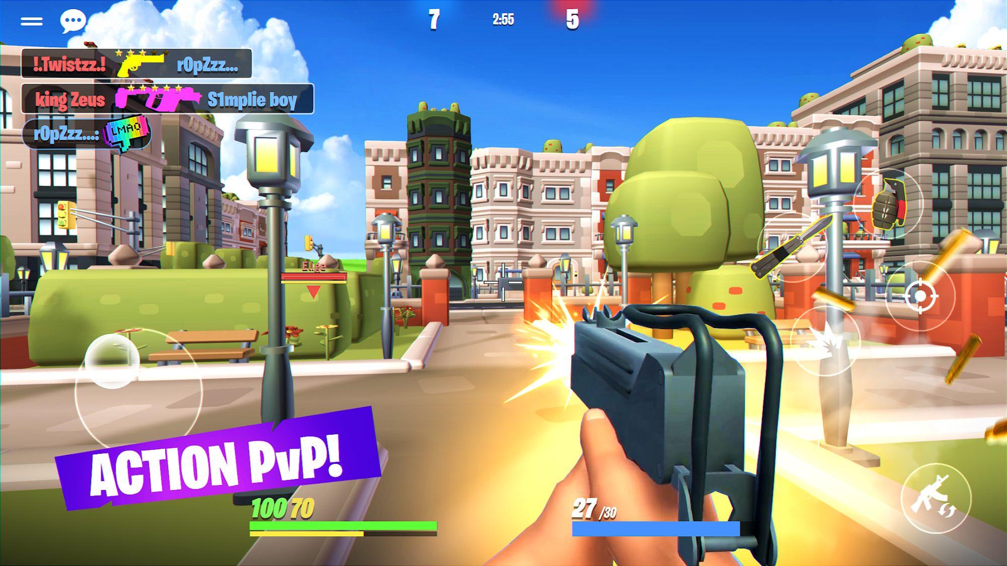 Action Strike: Heroes PvP FPS screenshot 1