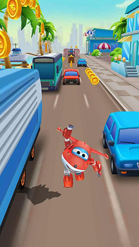 Super wings: Jett run pour Android