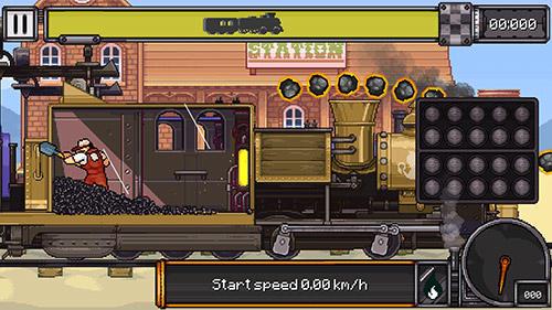 Züge Coal burnout: Race the steam! auf Deutsch