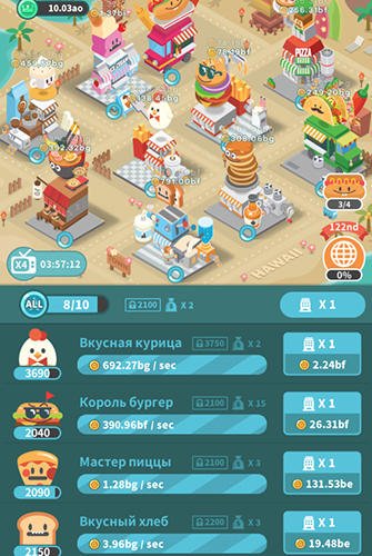Foodpia tycoon for Android