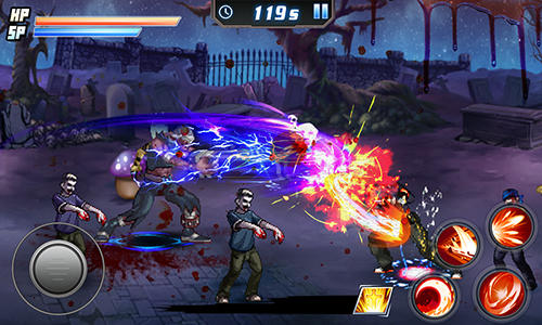 Death zombie fight for Android