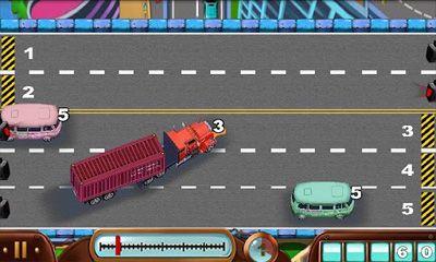 Rompecabezas Car Conductor Traffic Control en español