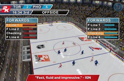 2K Sports NHL 2K11 auf Deutsch