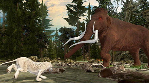 Life of sabertooth tiger 3D auf Deutsch