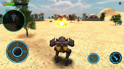 Mech robot war 2050 for Android