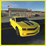 Modern american muscle cars icon