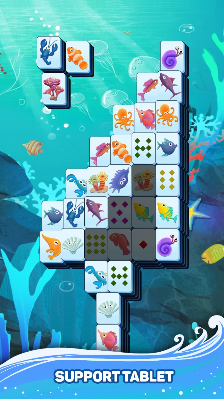 Mahjong Ocean screenshot 1