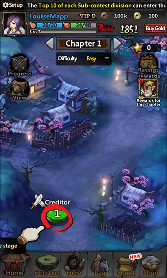 Haunted empire: Ghosts of the Three kingdoms Screenshot