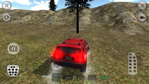 4WD SUV driving simulator capturas de pantalla