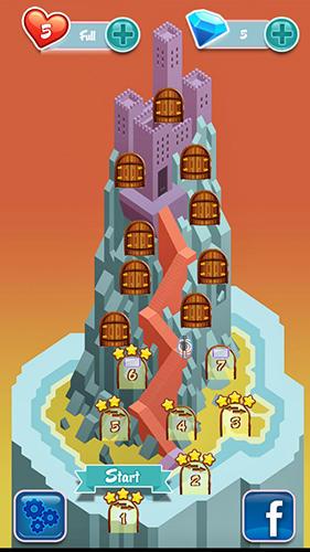 Arcade Candy numbers match 3 für das Smartphone