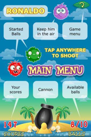 Arcade games: download Ronaldo: Tropical island to your phone