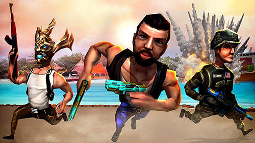 Mini shooters: Battleground shooting game für Android