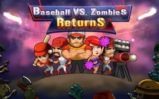 Baseball vs zombies returns Screenshot