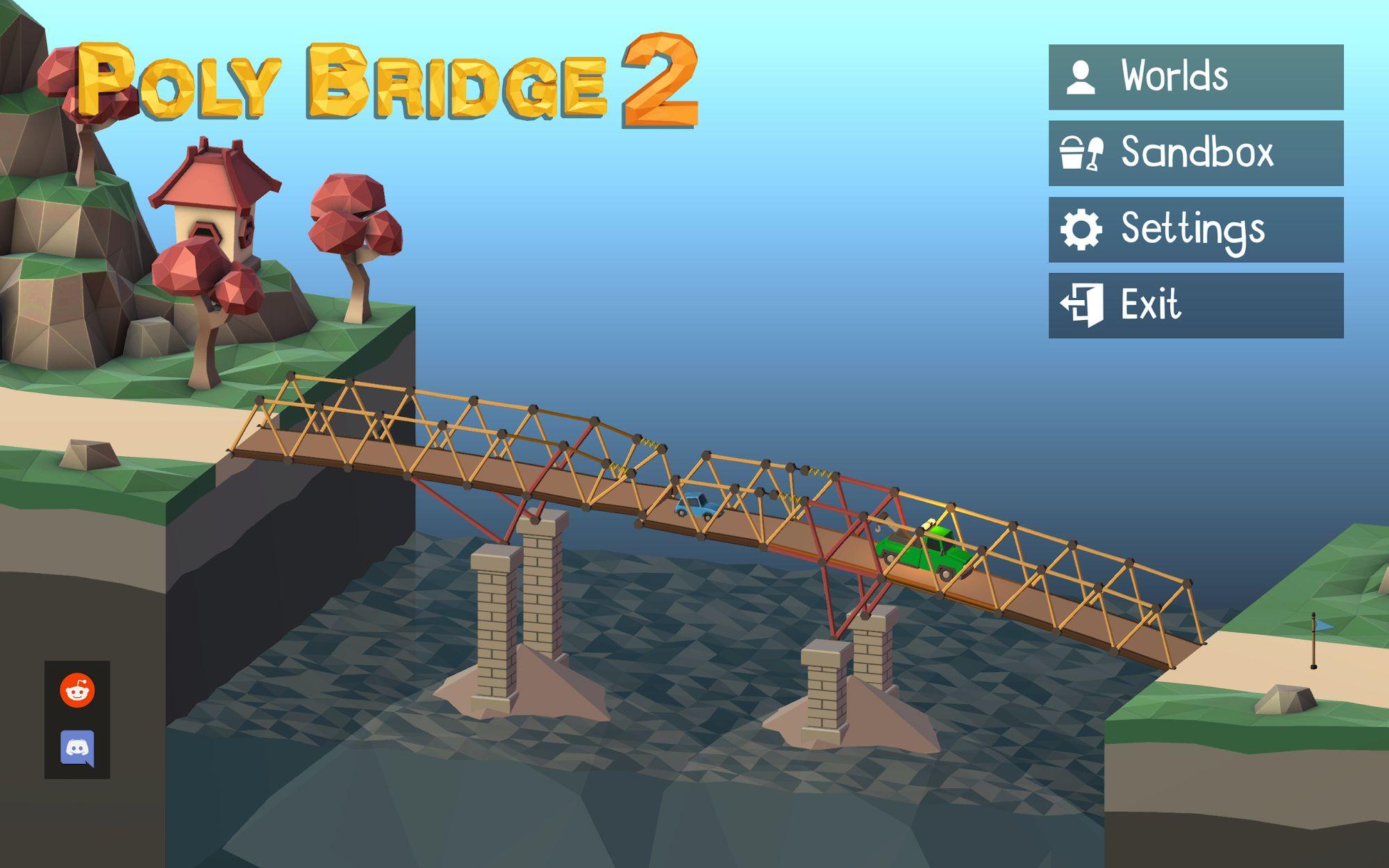 Poly Bridge 2 captura de tela 1