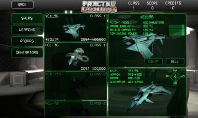 Simuladores Fractal Combat para teléfono inteligente
