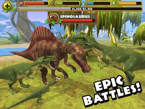 Screenshot Jurassic Leben auf dem iPhone