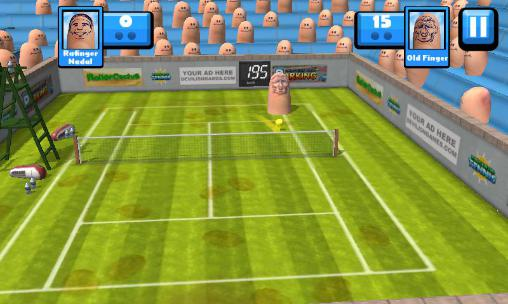 Fingertip tennis Screenshot