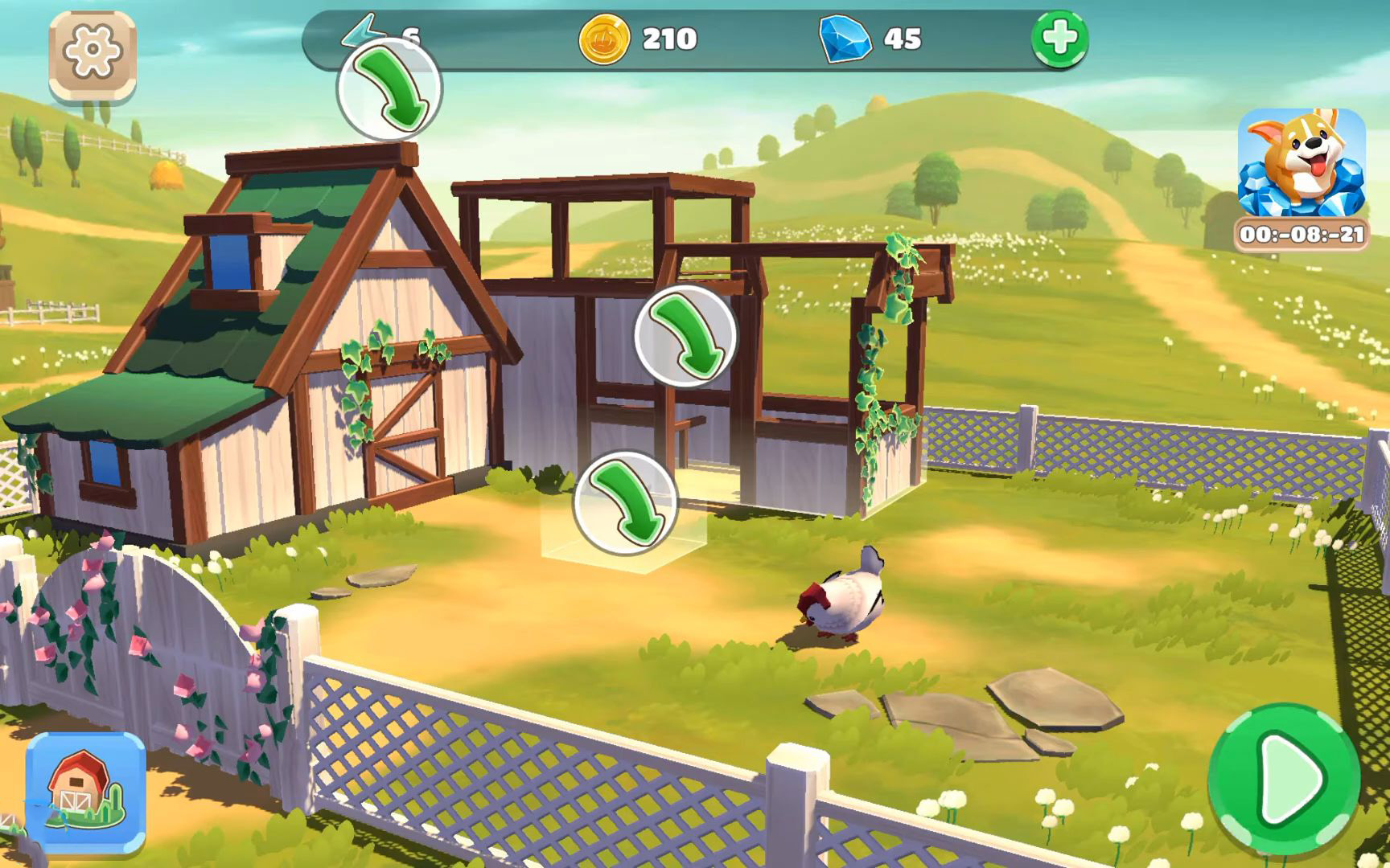 Big Farm: Home & Garden screenshot 1
