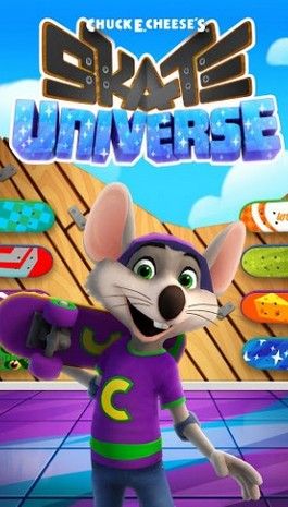 Chuck E.Cheese's: Skate universe Screenshot