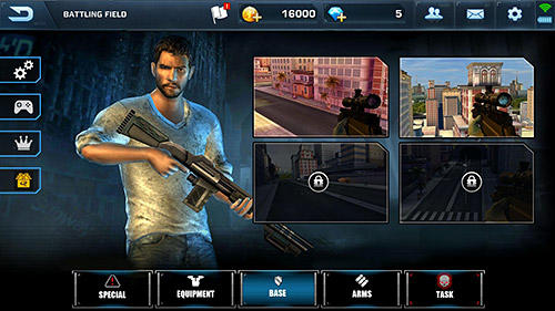 Scum killing: Target siege shooting game für Android