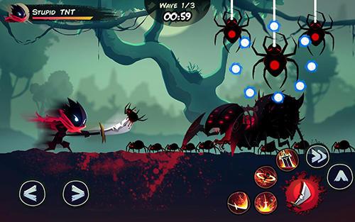 Actionspiele Shadow stickman: Fight for justice für das Smartphone