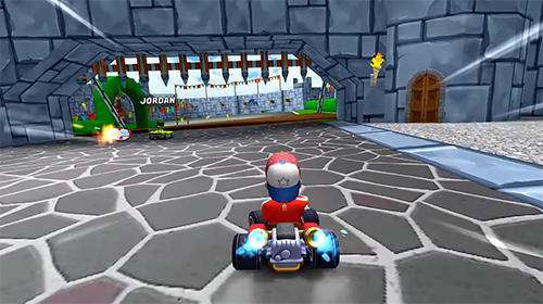 Boom karts: Multiplayer kart racing auf Deutsch