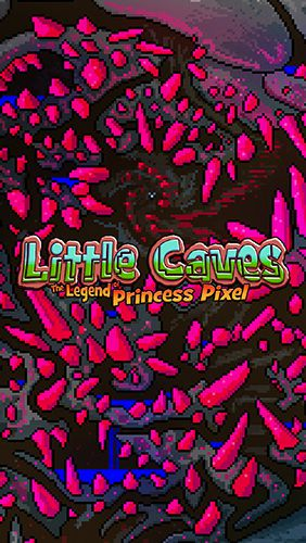 logo Pequenas cavernas: A Lenda da princesa Pixel