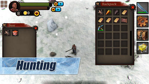 Winter Island: Crafting game. Survival Siberia para Android