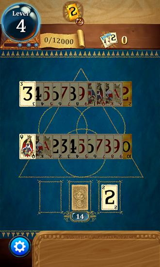 Solitär-Spiele Clash of cards: Solitaire auf Deutsch