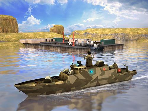 Secret stealth warship combat für Android