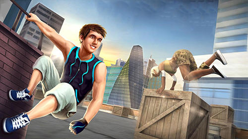 Parkour simulator 3D auf Deutsch