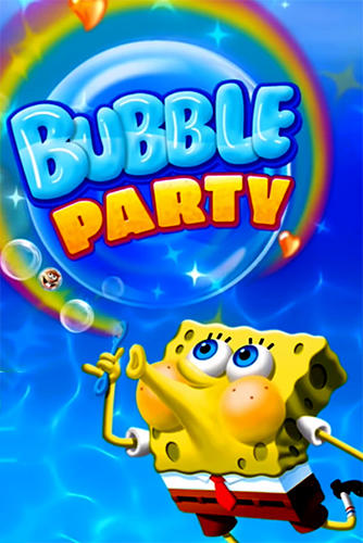Sponge Bob bubble party screenshot 1