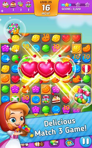 3 Gewinnt Lollipop: Sweet taste match 3 auf Deutsch