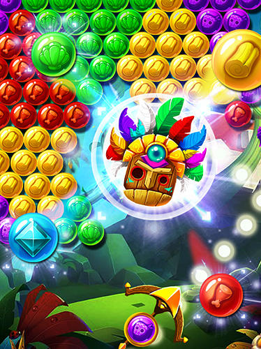 Brutal tribe bubble shooter 2 für Android