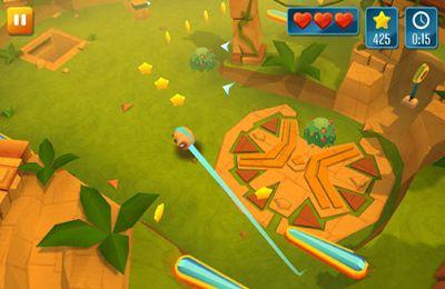 Screenshot Momonga - Pinball Abenteuer auf dem iPhone