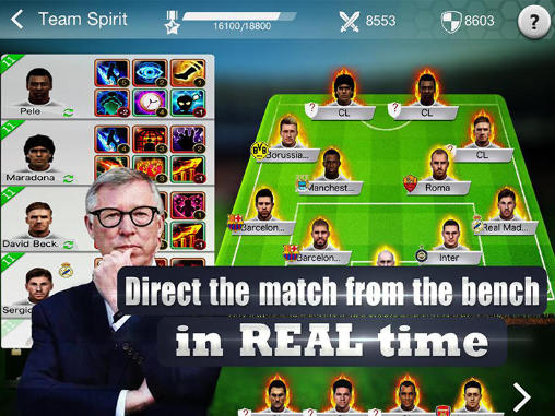 Online Top 12: Master of football für das Smartphone