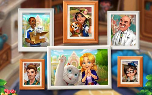 Arcade-Spiele Matchington mansion für das Smartphone