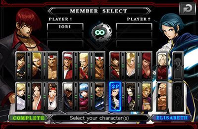 The King of Fighters-i in Russian