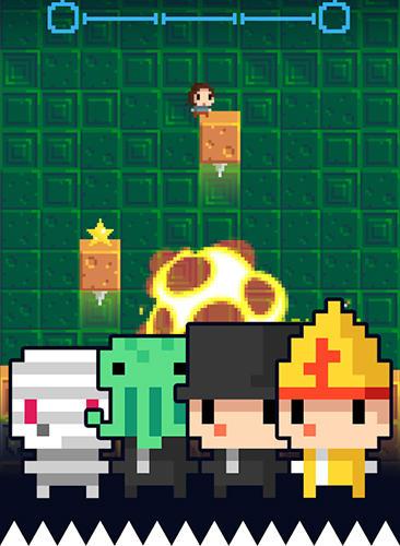 Arcade-Spiele Temple of spikes für das Smartphone