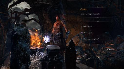 Fantasy games Lords of the fallen in English