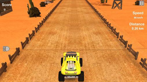 Monster truck racer: Extreme monster truck driver Screenshot