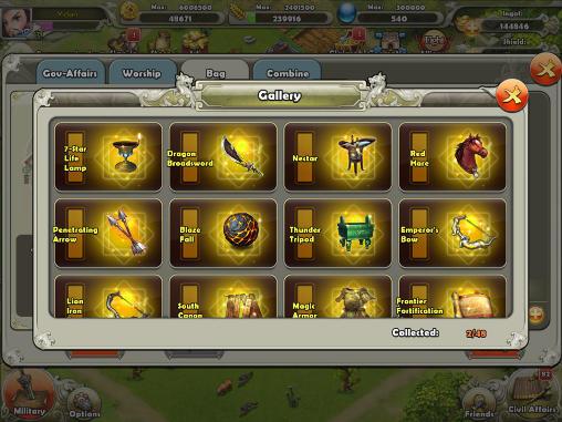 Online Strategy games Dynasty war in English
