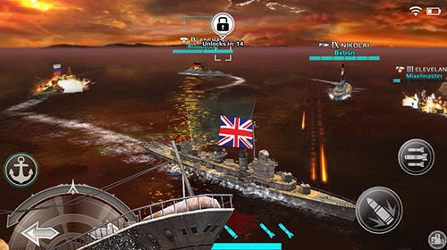 Warship fury: World of warships für Android