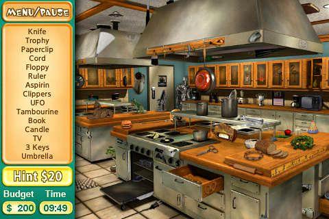 Screenshot Koch Quest auf dem iPhone