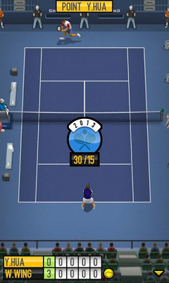 Sports games Pro Tennis 2013 for smartphone